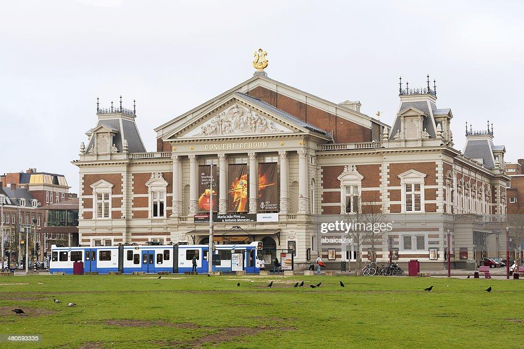 Amsterdam Concertgebouw : Stock Photo