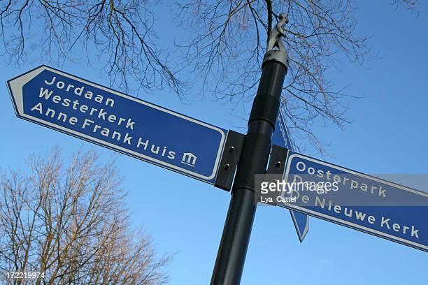 アムステルダム、方向標識