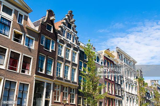 Amsterdam Houses Typical Dutch Architecture