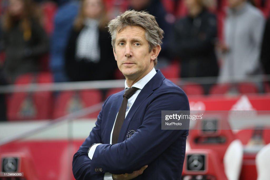 Ajax v Fortuna Sittard - Dutch Eredivisie : News Photo