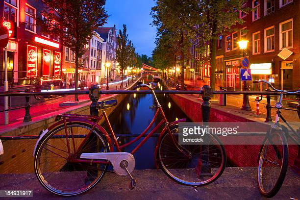 Amsterdam Netherlands Red Light District