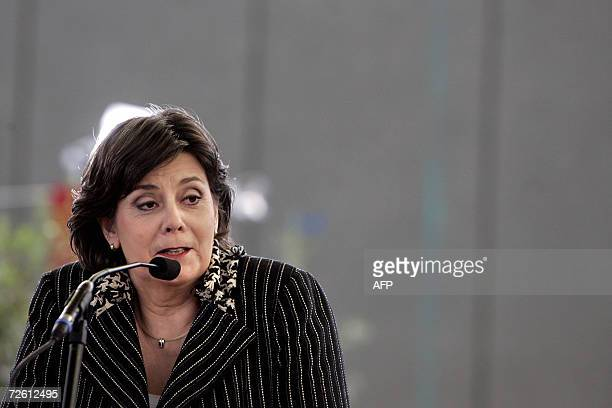 Amsterdam, NETHERLANDS: TO GO WITH AFP STORY FILES - Picture taken 05 April 2006 shows Dutch Minister of Integration and Immigration and member of...
