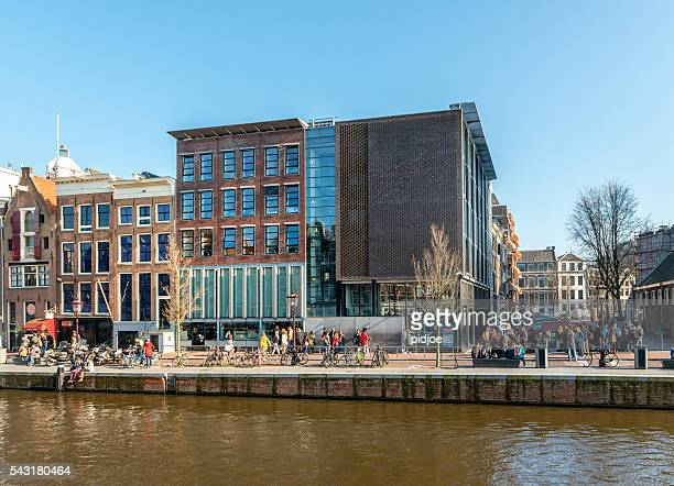 Amsterdam, Prinsengracht, Anne Frank House, North Holland, Netherlands