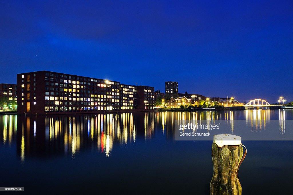 Amsterdam Reflections : Stock-Foto