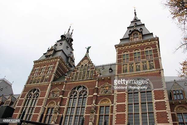 amsterdam: rijksmuseum - rijksmuseum stock photos and pictures