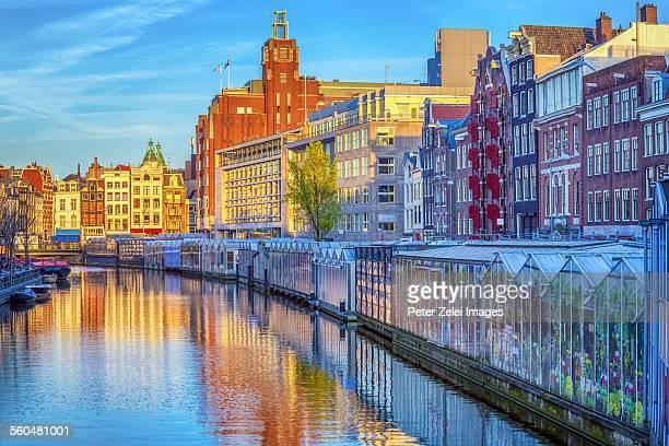 Amsterdam, Singel Canal, Flower Market