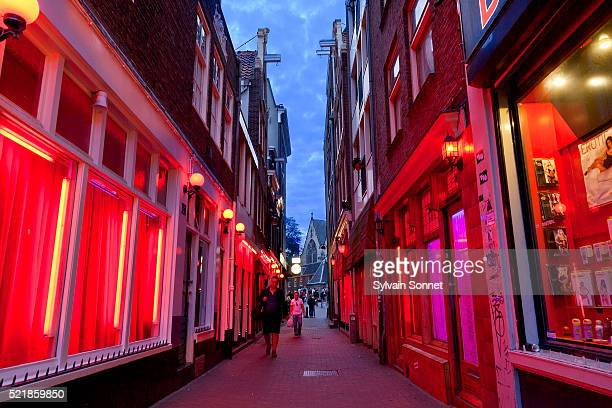 Amsterdam, The Red Light District