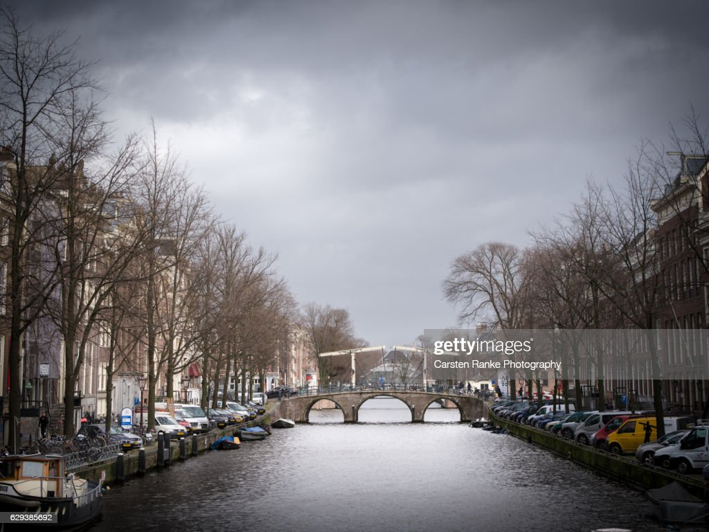Amsterdam, town canal : Stock-Foto
