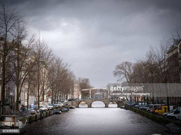 Amsterdam, town canal