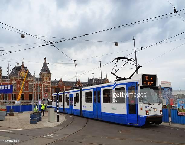"amsterdam tram - ""sjoerd van der wal"" or ""sjo"" stock pictures, royalty-free photos & images"