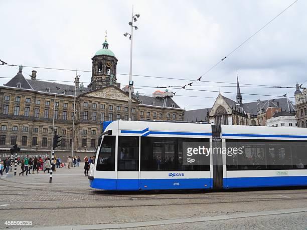 "amsterdam tranvía - ""sjoerd van der wal"" or ""sjo"" fotografías e imágenes de stock"