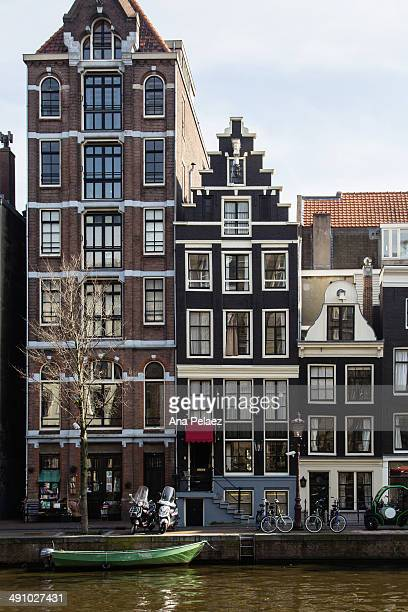 Amsterdam Typical houses