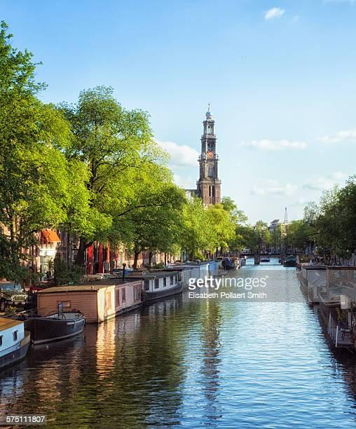 Amsterdam, Westerkerk, Prinsengracht