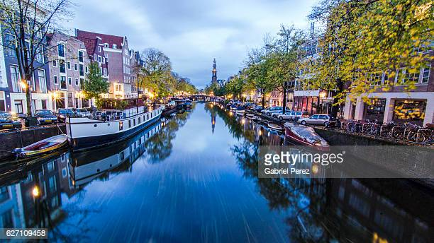 Amsterdam's Prinsengracht Canal