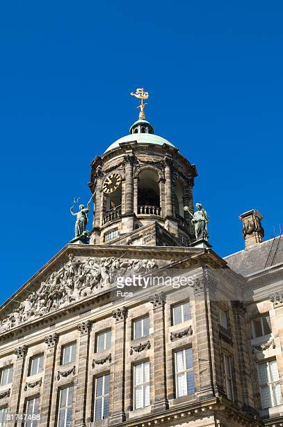 amsterdam's royal palace - royal palace amsterdam stock pictures, royalty-free photos & images