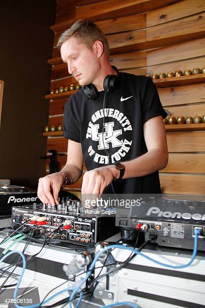 Amtrac performs at eBay Giving Works Partners with Nylon's 'The Loft at Malverde' for Charitable Auction to benefit Music Cares on March 13 2014 in...