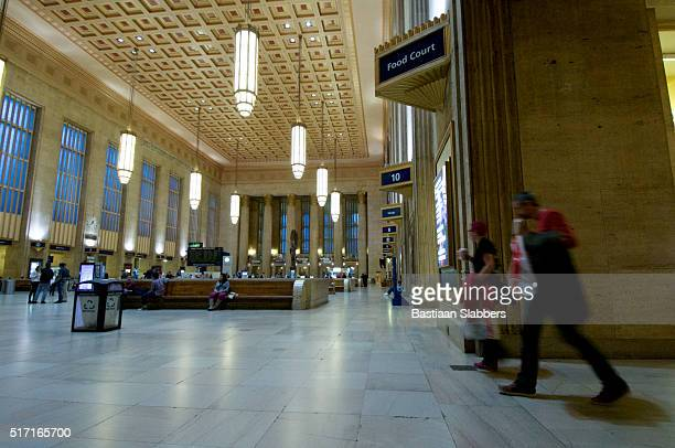 Amtrak 30th Street Station in Philadelphia, PA