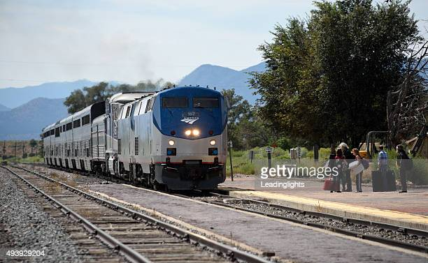 Amtrak Southwest Chief at Lamy New Mexico