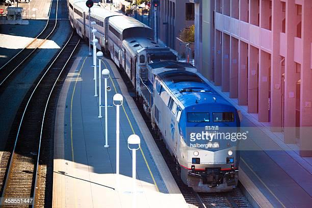 Amtrak Train at Jack London Square, Oakland
