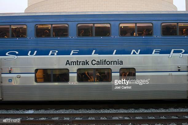 Amtrak's Pacfic Surfliner at Los Angeles Union Station
