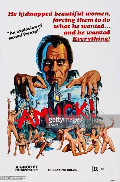 Amuck poster poster art Farley Granger 1972