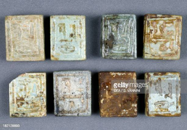 Amulets from the Tomb of Nassa Tomb of the Governor Sheik Souby Bahariya Oasis Giza Egypt Egyptian Civilisation 26th Dynasty