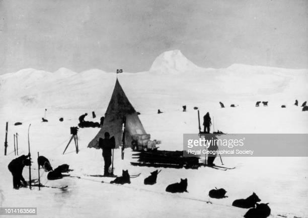 first dog camp Antarctica 1910 Norwegian Antarctic Expedition 19101912