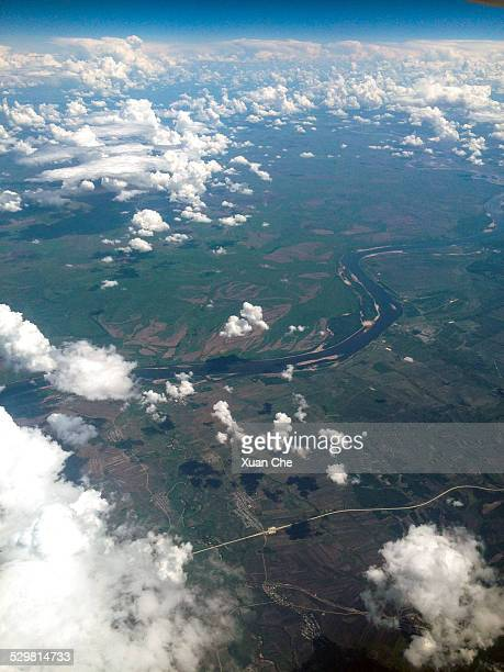 amur river between russia and china - xuan che stock pictures, royalty-free photos & images