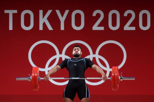 JPN: Weightlifting - Olympics: Day 8