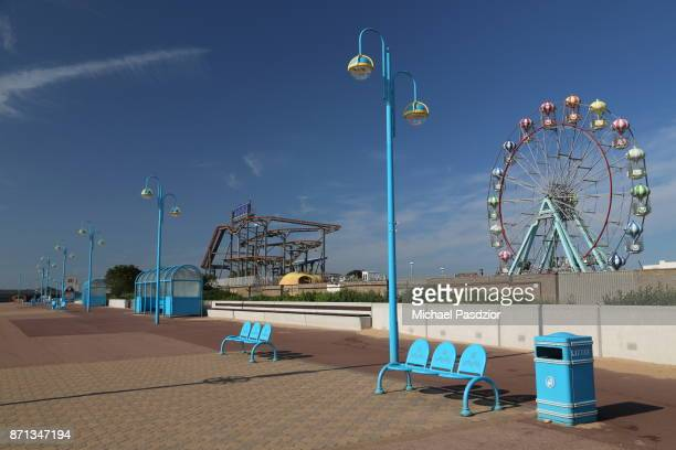 amusement park at the seaside