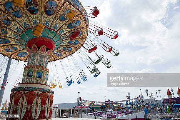 Amusement park ride at seaside heights, new jersey