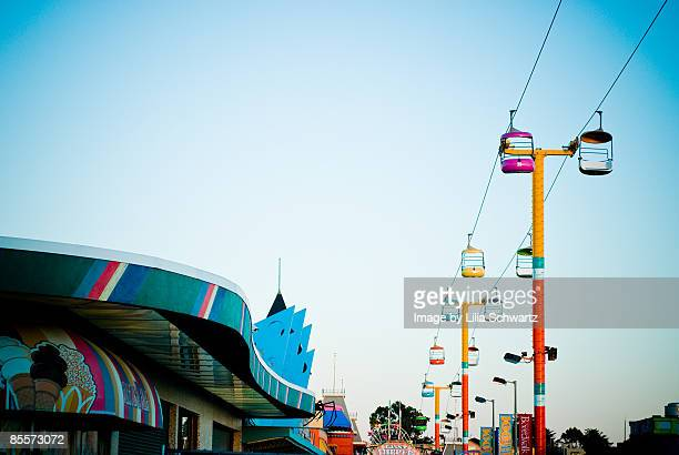 Amusement Park Skyline