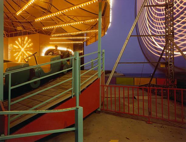 Amusement Ride at Night