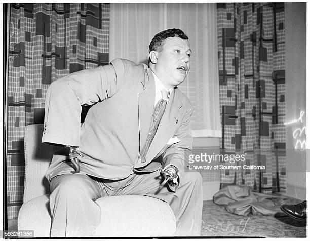 Amvets National Commander Harold Russell May 10 1951
