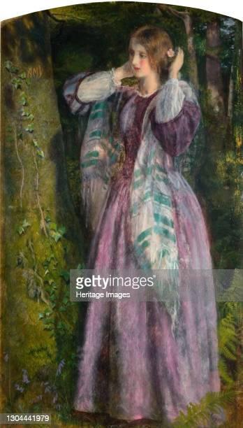 Amy, 1859. Artist Arthur Hughes.