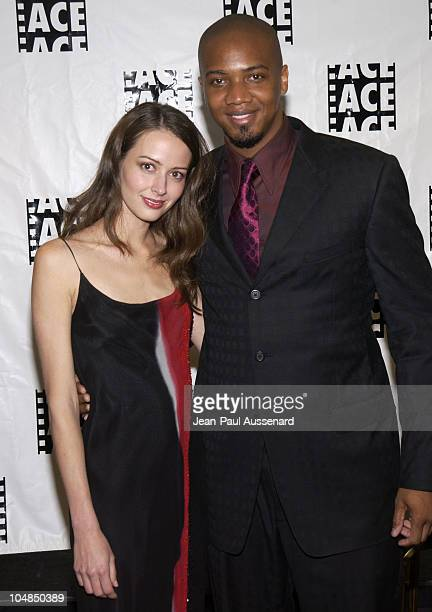 Amy Acker and J. August Richards during 53rd Annual ACE Eddie awards at Beverly Hilton Hotel in Beverly Hills, California, United States.