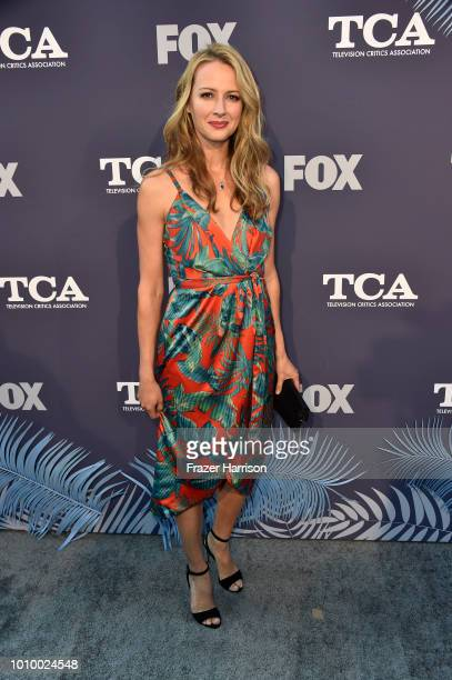 Amy Acker attends FOX Summer TCA 2018 All-Star Party at Soho House on August 2, 2018 in West Hollywood, California.