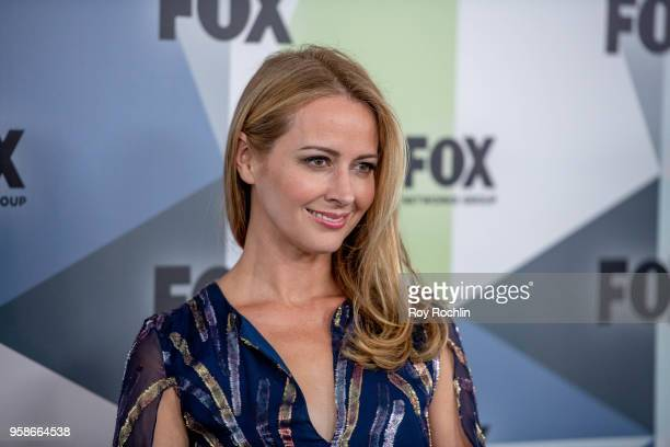 Amy Acker attends the 2018 Fox Network Upfront at Wollman Rink Central Park on May 14 2018 in New York City