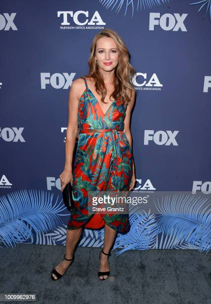 Amy Acker attends the FOX Summer TCA 2018 AllStar Party at Soho House on August 2 2018 in West Hollywood California