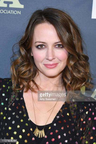 Amy Acker attends the Fox Winter TCA at The Fig House on February 06 2019 in Los Angeles California