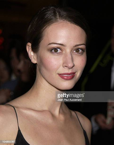 Amy Acker during 53rd Annual ACE Eddie awards at Beverly Hilton Hotel in Beverly Hills California United States