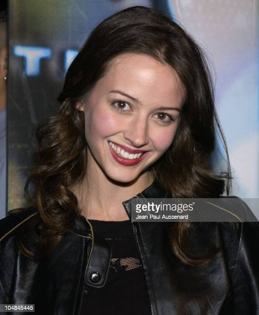 Amy Acker during The WB Network All-Star Celebration - Arrivals at The Highlands in Hollywood, California, United States.