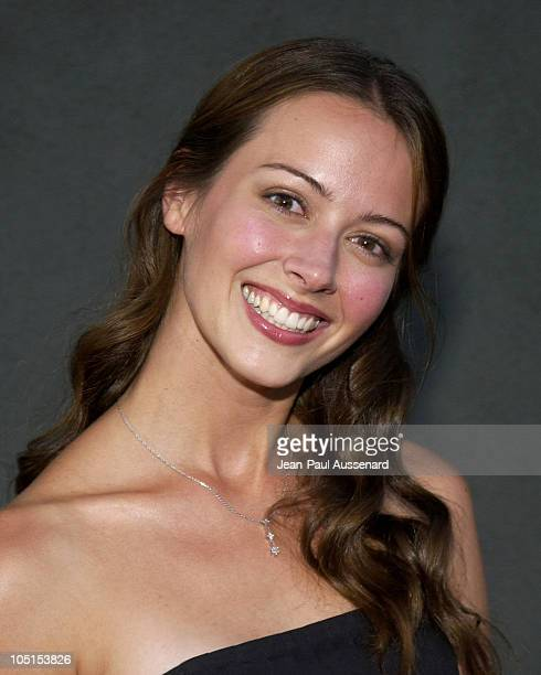 Amy Acker during The WB Network's 2003 All Star Party at White Lotus in Hollywood California United States