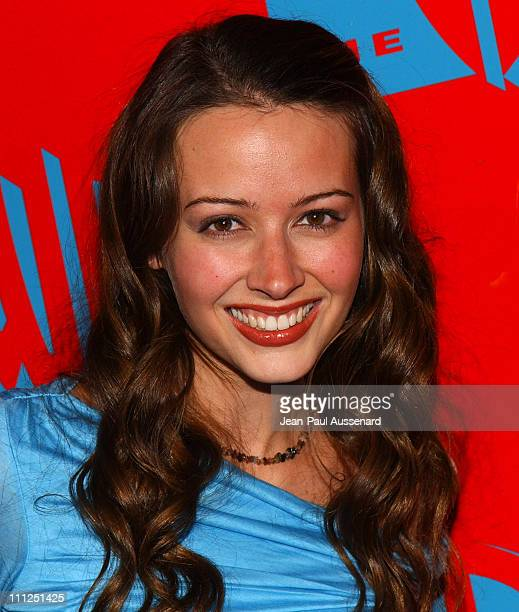 Amy Acker during The WB Network's 2004 All Star Party at Hollywood & Highland in Hollywood, California, United States.