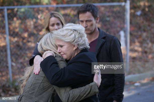 Amy Acker Natalie Alyn Lind guest star Sharon Gless and Stephen Moyer in the first part of the eXtraction/Xroads twohour season finale of THE GIFTED...