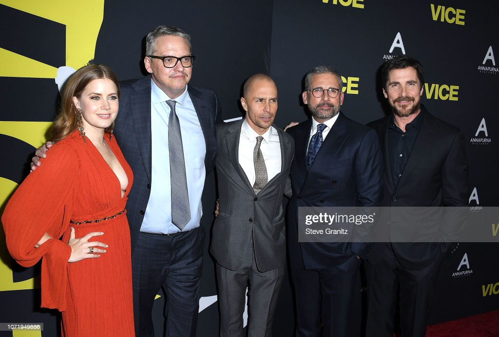 """Annapurna Pictures, Gary Sanchez Productions And Plan B Entertainment's World Premiere Of """"Vice"""" - Arrivals : News Photo"""
