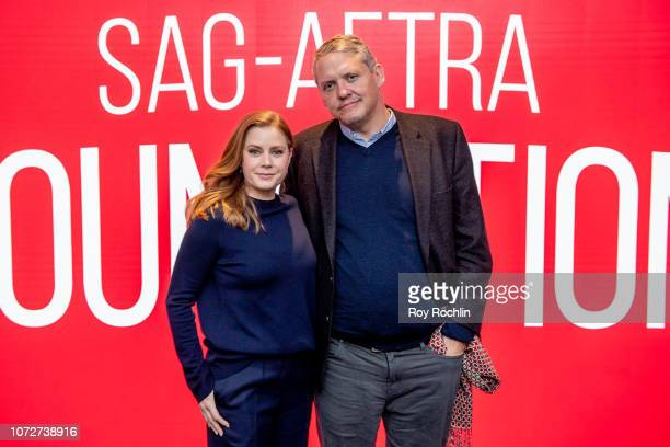 Amy Adams and Adam McKay attend SAGAFTRA Foundation Conversations 'Vice' with Amy Adams and Adam McKay at The Robin Williams Center on November 26...