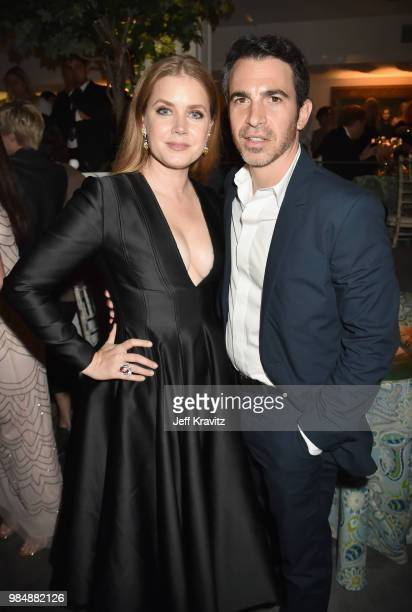 Amy Adams and Chris Messina attend HBO's Sharp Objects Los Angeles premiere at Boulevard3 on June 26 2018 in Hollywood California
