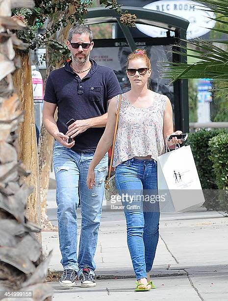 Amy Adams and Darren Le Gallo are seen on September 08 2014 in Los Angeles California