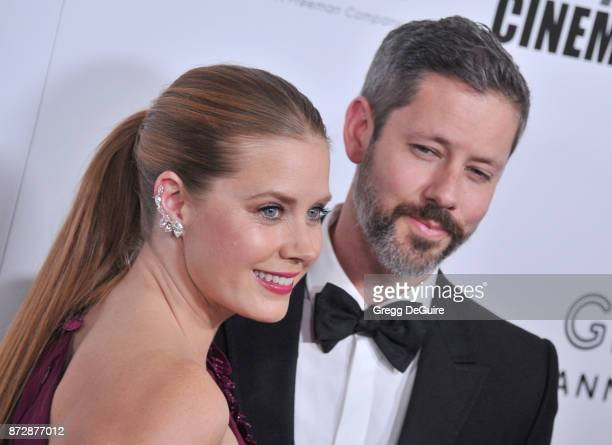 Amy Adams and Darren Le Gallo arrive at the 31st Annual American Cinematheque Awards Gala at The Beverly Hilton Hotel on November 10 2017 in Beverly...